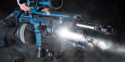 Tactical Blue Dot Flashlight