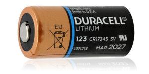 DURACELL LITHIUM 3V 123 BATTERY