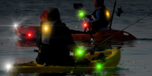LIGHTED KAYAK & FISHING SAFETY LIGHTING KIT SPECIAL WITH FREE DOMESTIC SHIPPING