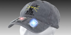 BUG-STRIKE™  LIGHT BASED NATURAL INSECT REPELLING SYSTEM CAP